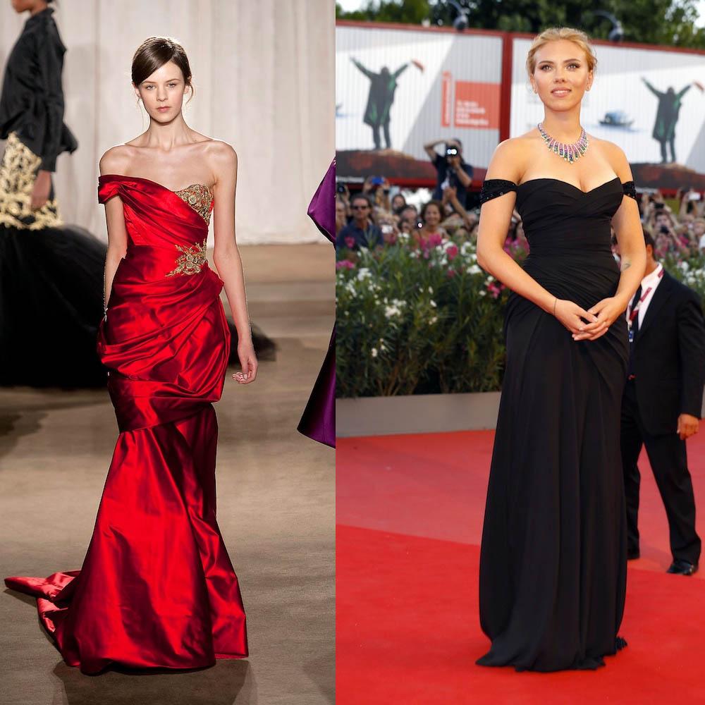 Marchesa & Scarlett Johansson