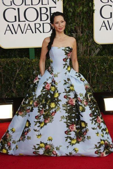 2013 Golden Globe Awards Red Carpet Fashion Recap - theFashionSpot