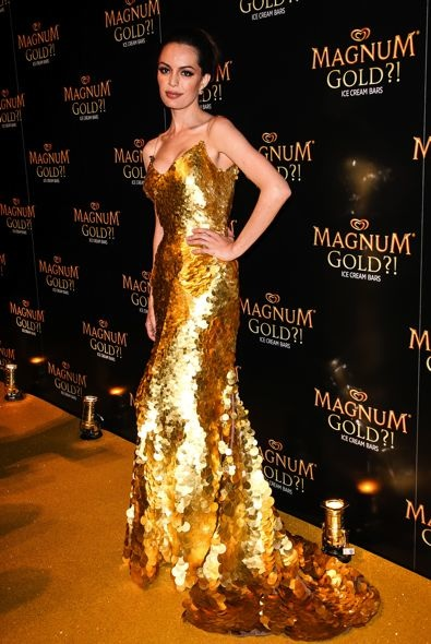 Caroline Correa at As Good As Gold Presented by Magnum Ice Cream