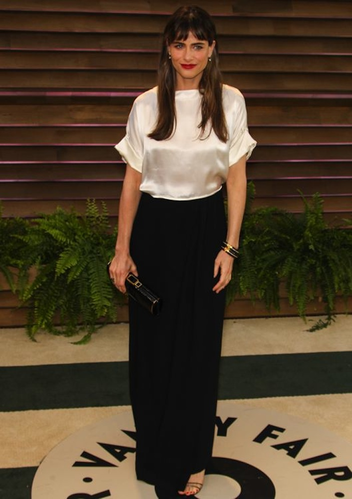 Amanda Peet at the 2014 Vanity Fair Oscar Party