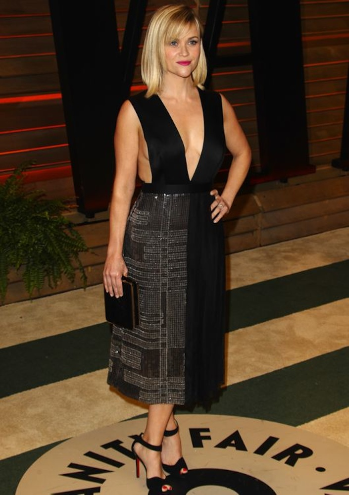 Reese Witherspoon at the 2014 Vanity Fair Oscar Party