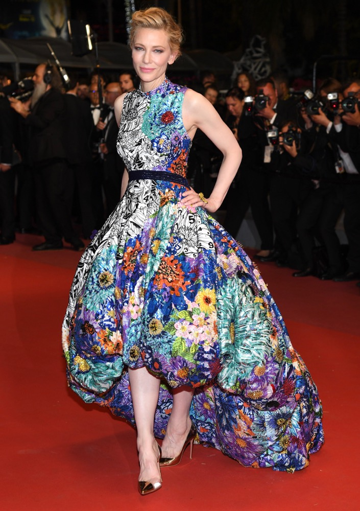 Cate Blanchett at the Premiere of Cold War