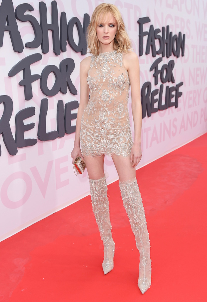 Daria Strokous at Fashion For Relief