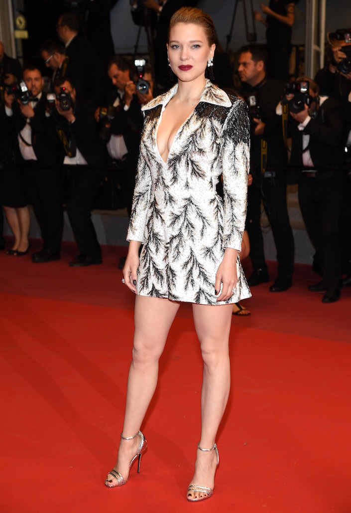 Léa Seydoux at the Premiere of Cold War