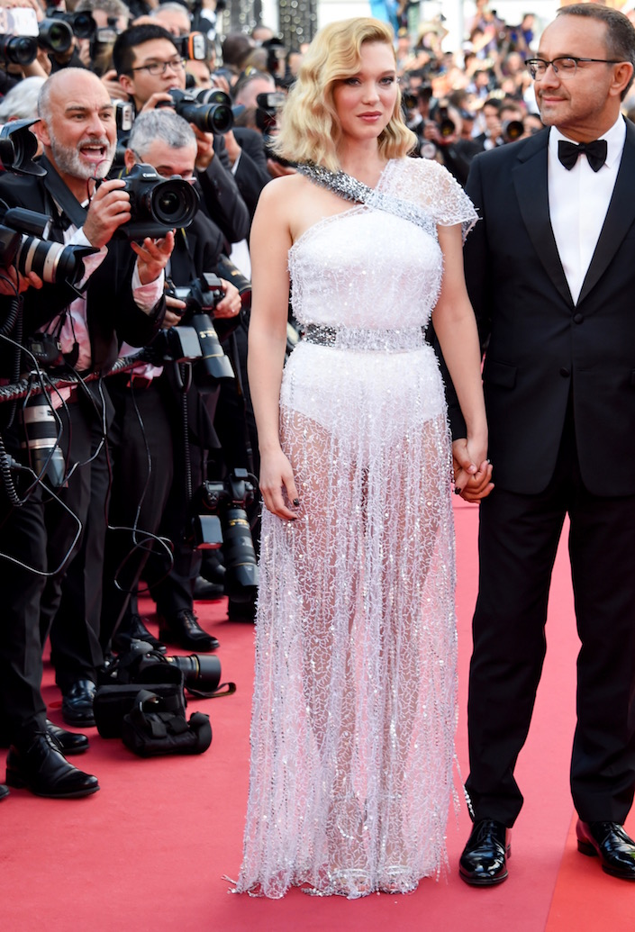 Léa Seydoux at the Opening Gala and Premiere of Everybody Knows