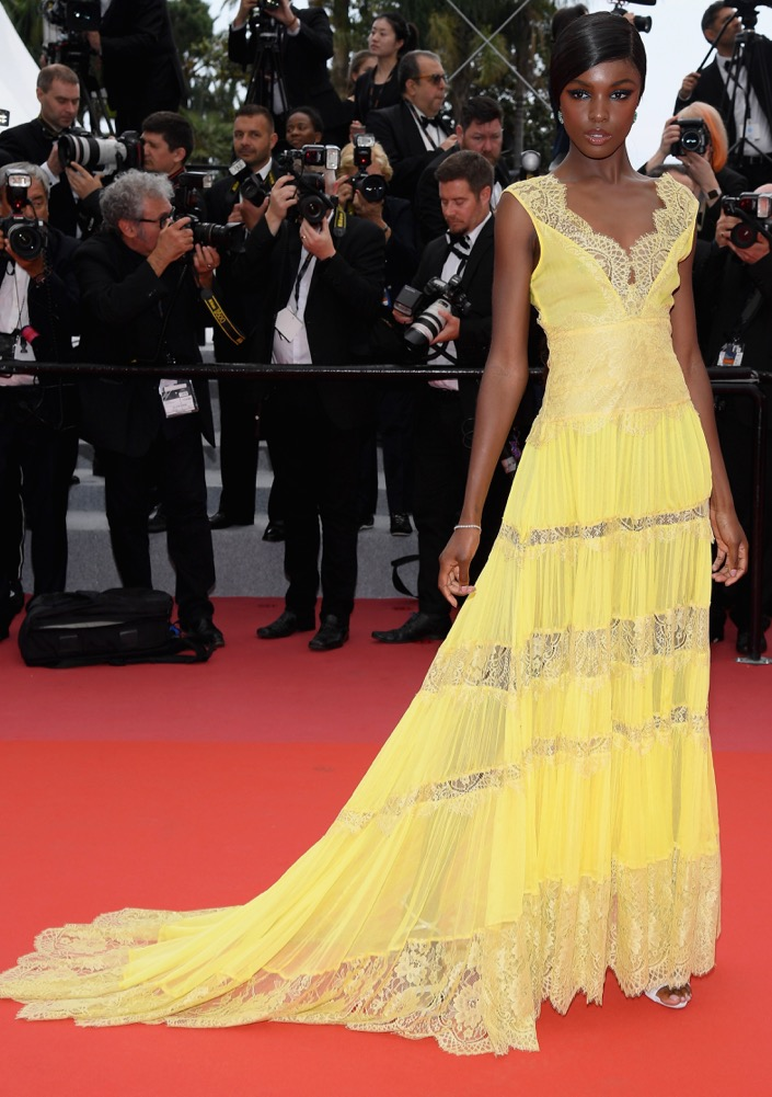 Leomie Anderson at the Premiere of Yomeddine