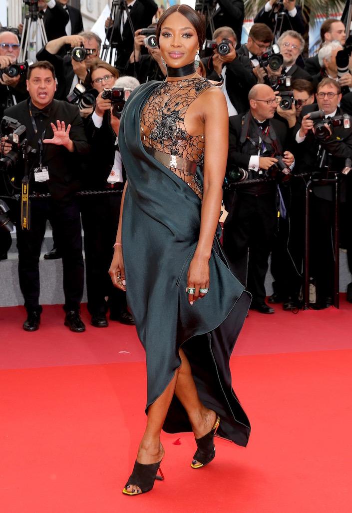 Naomi Campbell at the Premiere of BlacKkKlansman