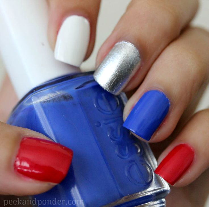 4th Of July Nails Easy Hireability