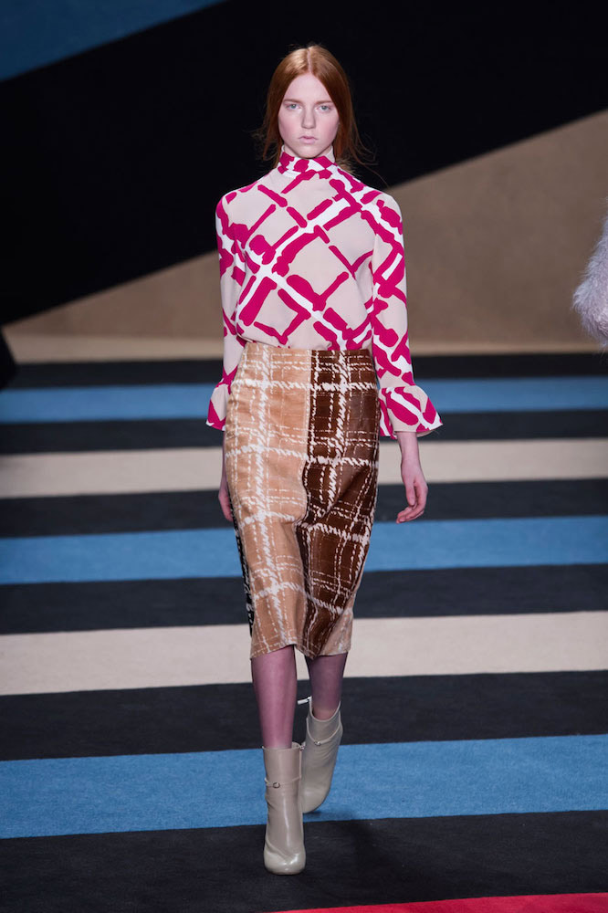 Plaid: Derek Lam Fall 2016