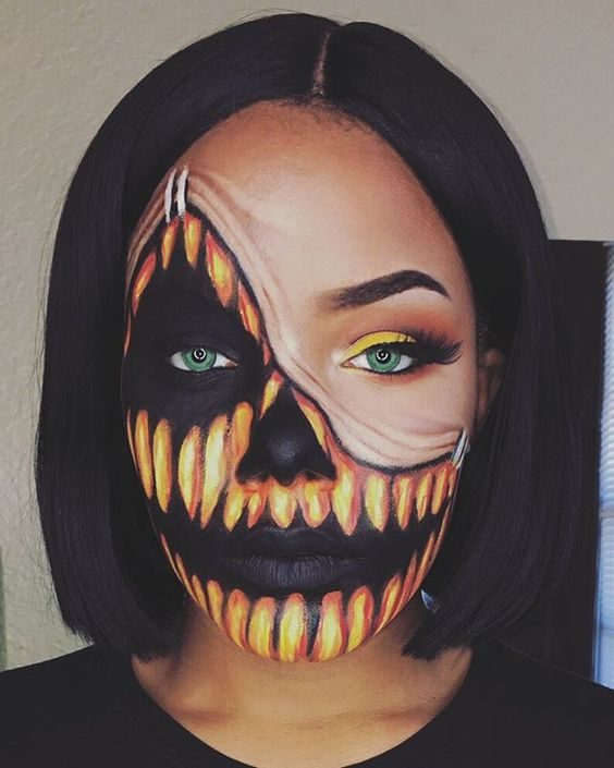 101 mindblowing halloween makeup ideas to try this year