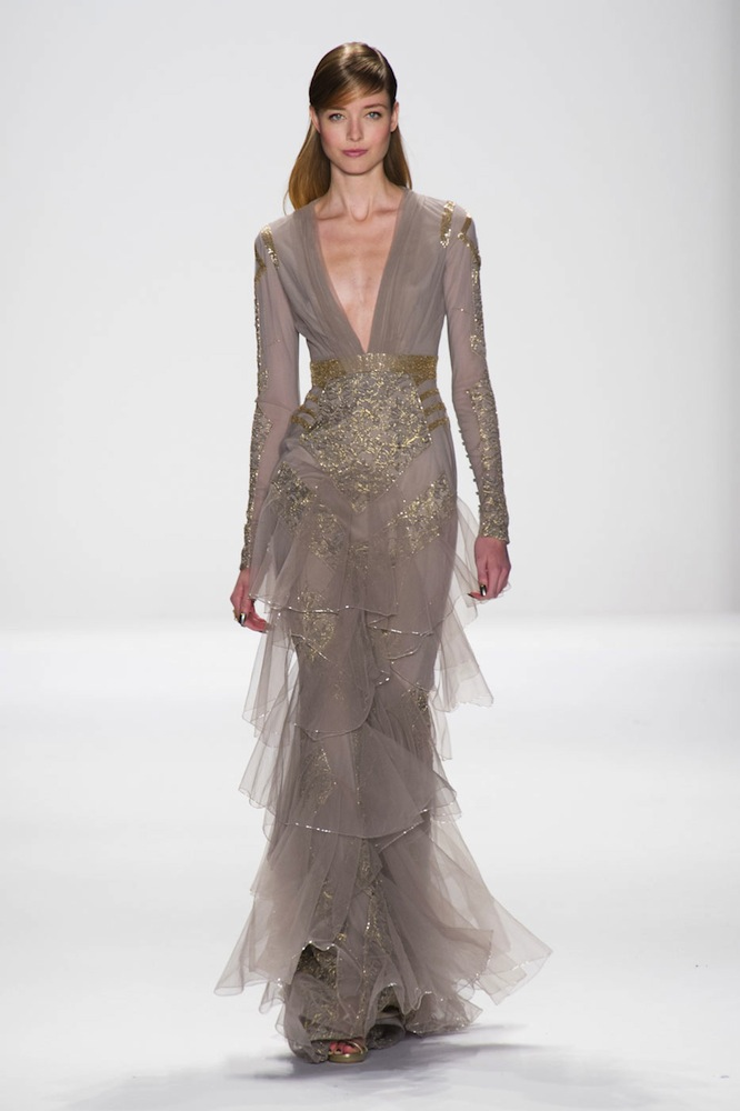 Best Dresses Fall 2014 Badgley Mischka