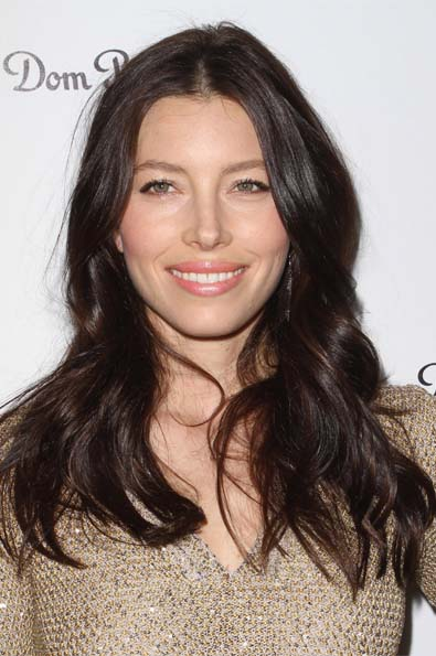 Jessica Biel's Loose Waves