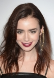 Lilly Collins' Bed-Head is a Do