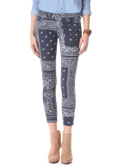 Keep: Printed Jeans 