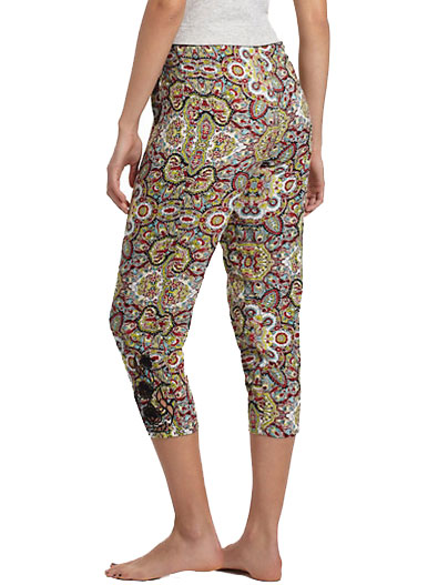 Anthropologie Tapered Paisley Loungers