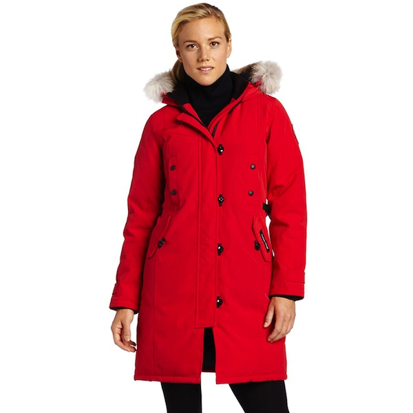 canada goose kensington parka womens review