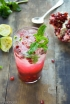 Pomegranate Mojito Cocktail