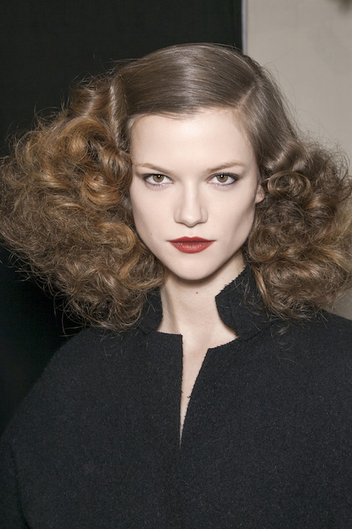 Bottega Veneta's Old Hollywood Glamour Ringlets
