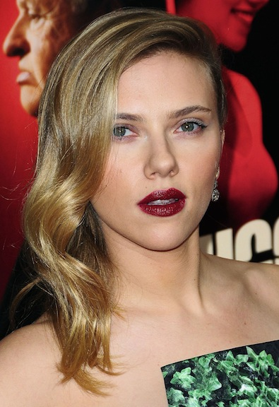 Scarlett Johansson's Winter Theme
