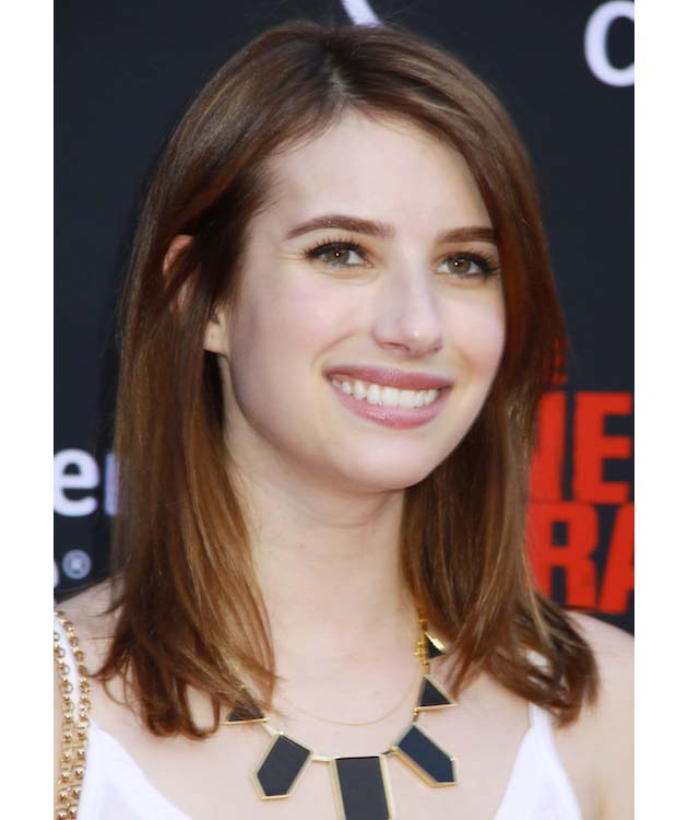 Emma Roberts' Groomed Brows