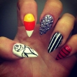 Candy Corn & Bling