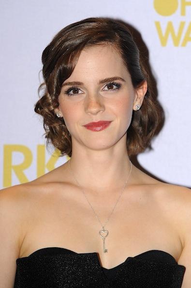 Emma Watson's Sweet Updo