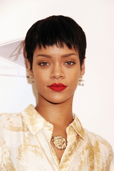 Rihanna's Sophisticated Crop