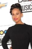 Alicia Keys' Creative Updo