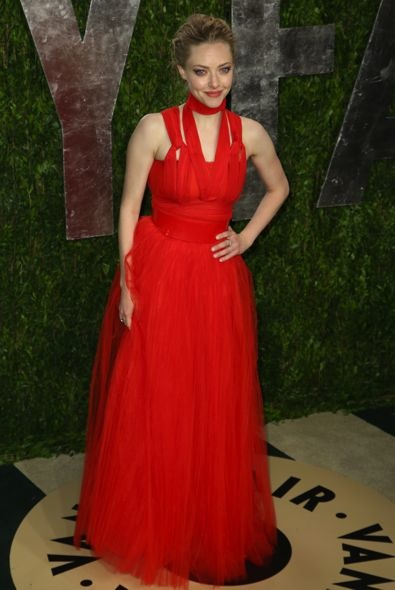 Amanda Seyfried at the 2013 Vanity Fair Oscar Party