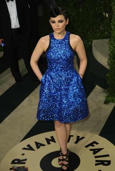 Ginnifer Goodwin at the 2013 Vanity Fair Oscar Party