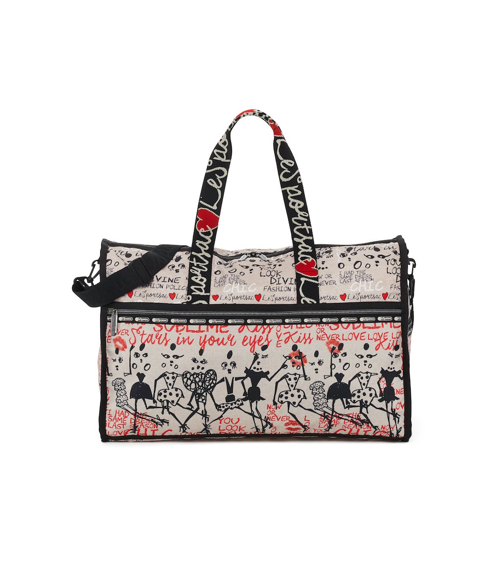 The Alber Elbaz x LeSportsac Collab Is Fashion Magic, Sealed With a Kiss