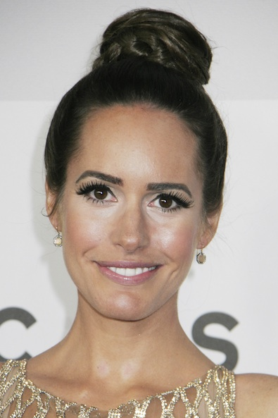 Louise Roe at the Golden Globes