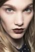 Brown lipstick is modern