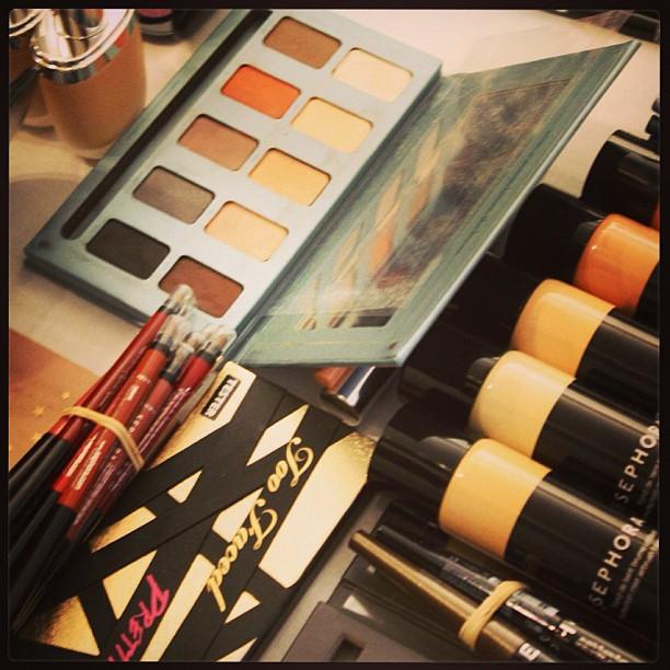Sephora makeup for BCBG and Herve Leger