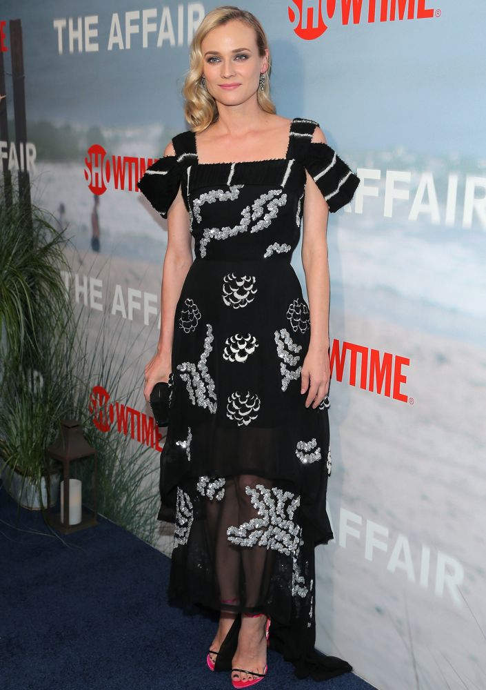 Diane Kruger at the New York Premiere of The Affair