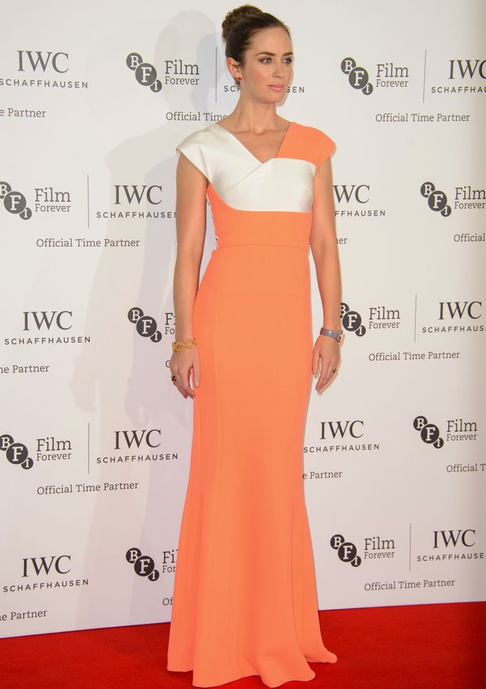 Emily Blunt at the 58th BFI London Film Festival IWC Gala Dinner