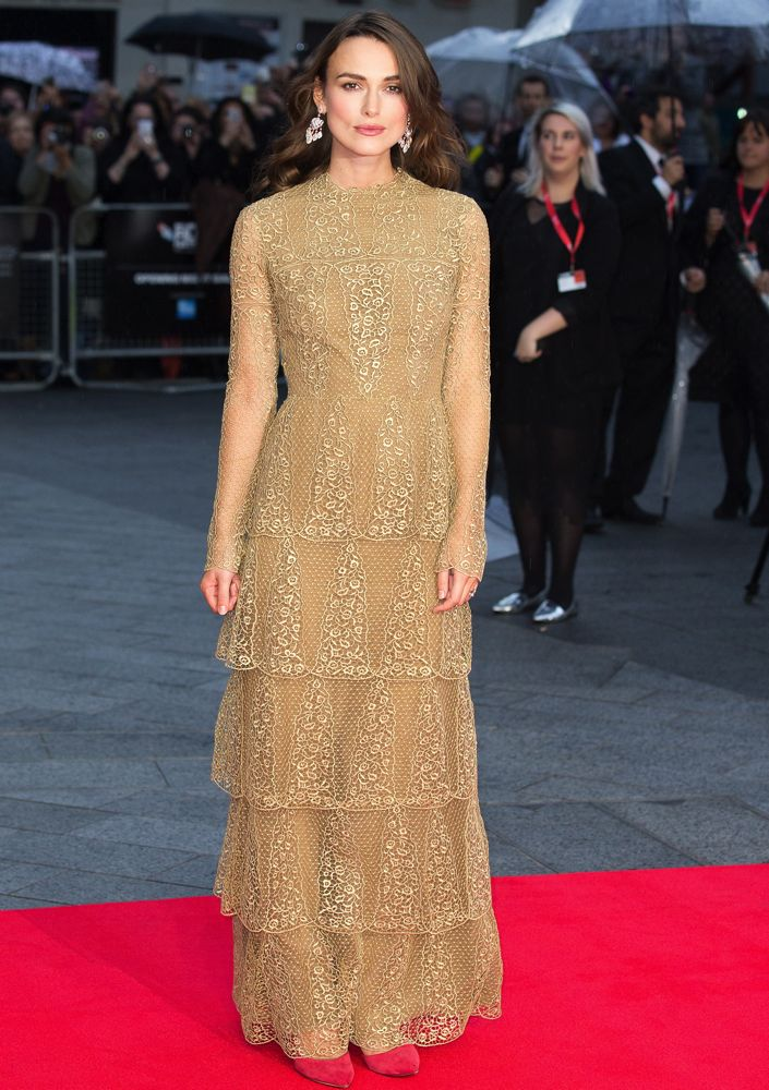 Keira Knightley at the 58th BFI London Film Festival Opening Night Gala Screening of The Imitation Game