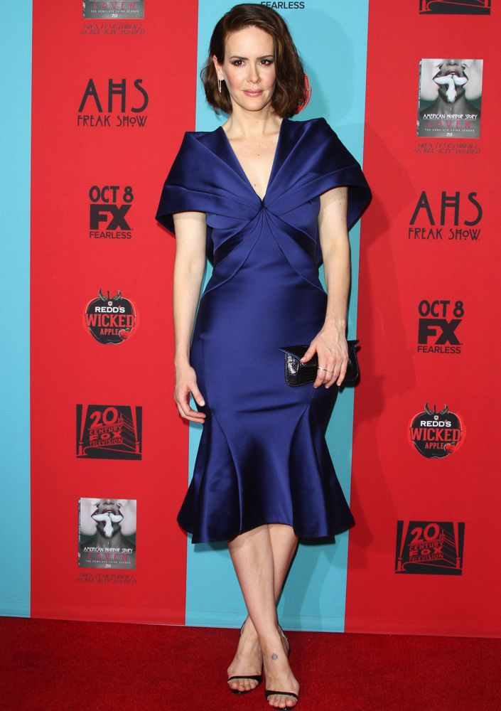 Sarah Paulson at the Los Angeles Premiere of American Horror Story: Freak Show