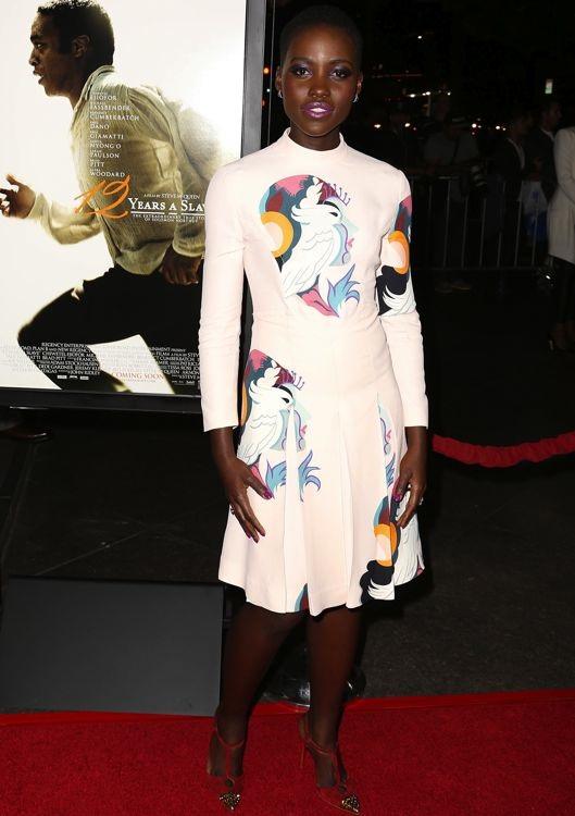 Lupita Nyong'o at the Los Angeles Premiere of 12 Years a Slave