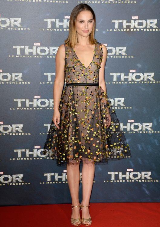 Natalie Portman at the Paris Premiere of Thor: The Dark World
