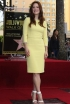 Julianne Moore at a Hollywood Walk of Fame Ceremony