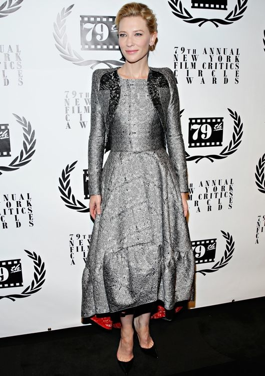 Cate Blanchett at the 2013 New York Film Critics Circle Awards Ceremony