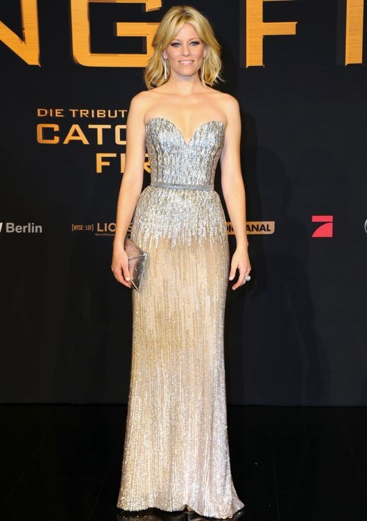 Elizabeth Banks at the Berlin Premiere of The Hunger Games: Catching Fire