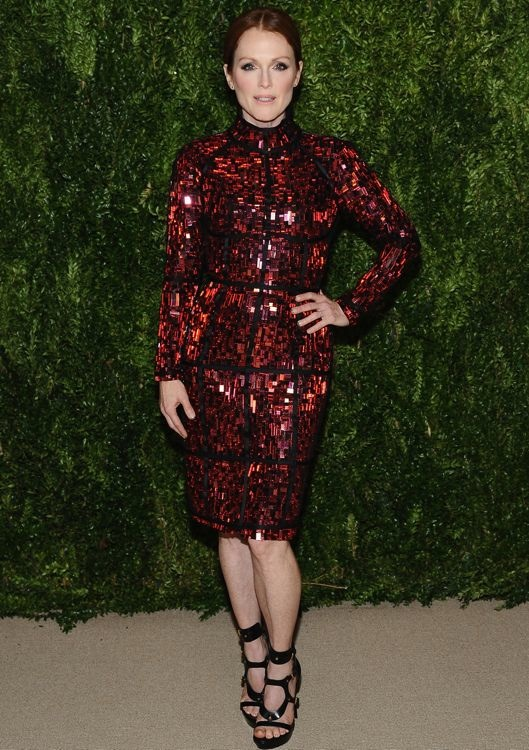 Julianne Moore at the 2013 CFDA/Vogue Fashion Fund Awards Dinner