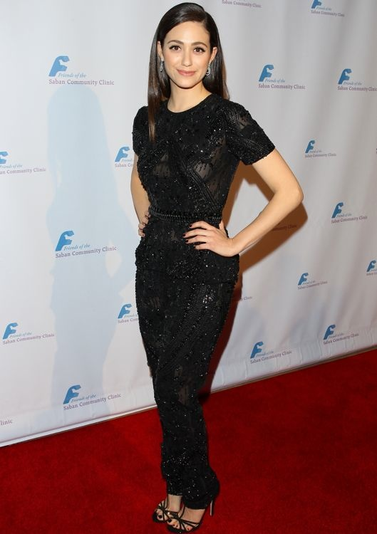 Emmy Rossum at the Saban Community Clinic's 37th Annual Benefit Gala