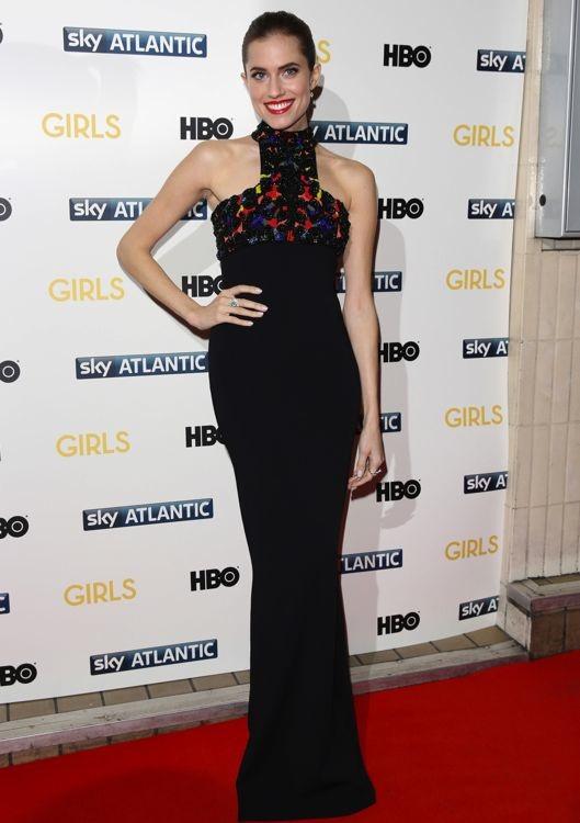 Allison Williams at the London Premiere of Girls Season 3