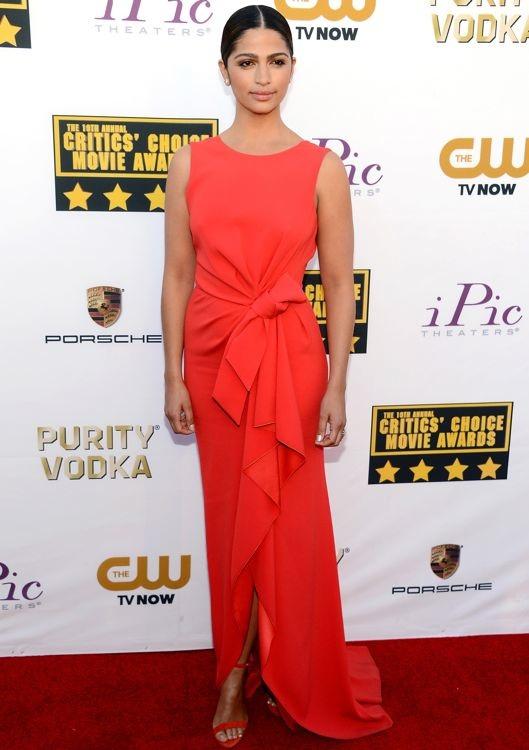 Camila Alves at the 19th Annual Critics' Choice Movie Awards