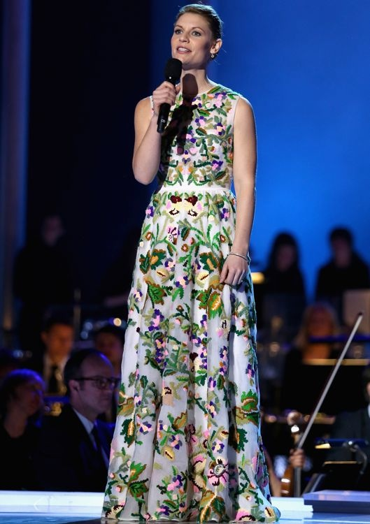 Claire Danes at the 20th Annual Nobel Peace Prize Concert