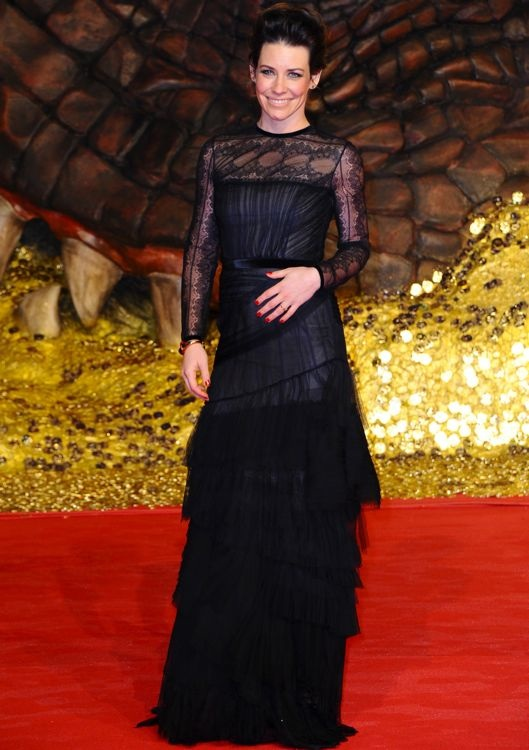 Evangeline Lilly at the Berlin Premiere of The Hobbit: The Desolation of Smaug