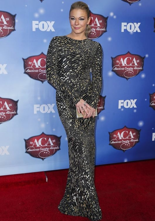 LeAnn Rimes at the American Country Awards 2013